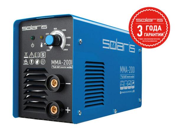 Инвертор сварочный SOLARIS MMA-200I