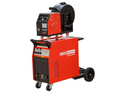 Полуавтомат сварочный HDC Kansas 350 (380В, MIG/MAG/FLUX/MMA, евроразъем) (HD-KNS350-E3)