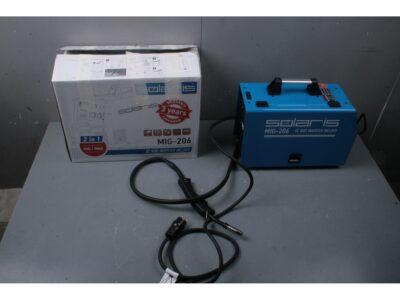 Полуавтомат сварочный Solaris MIG-206 (MIG/MMA) уцененный (2303311284) (220В, встроенная горелка 2 м, смена полярности) (MIG-206-у)