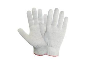 Перчатки х/б трикотажные, 10класс,белые,РБ