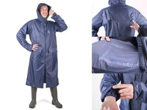Плащ-дождевик ПВХ Тайфун  р.60-62 рост 170-176 синий