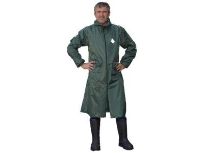 Плащ-дождевик ПВХ Тайфун р. 56-58 рост 170-176 зеленый