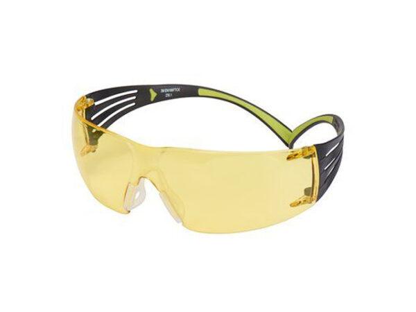 Очки открытые 3М 403 Securefit янтарные PC,  PC - поликарбонатное стекло)