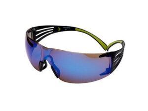Очки открытые 3М 408 Securefit зеркальные PC, PC - поликарбонатное стекло)