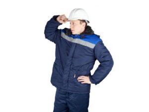 Куртка утепленная с капюшоном БРИГАДИР р.52-54 рост 182-188, РФ