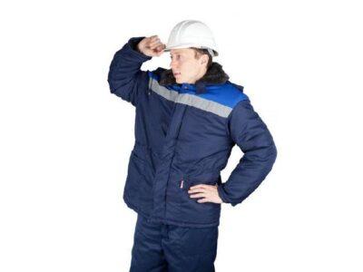 Куртка утепленная с капюшоном БРИГАДИР р.60-62 рост 182-188, РФ
