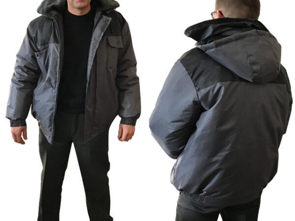Куртка утепленная с капюшоном Универсал р.56-58 рост 170-176, РФ