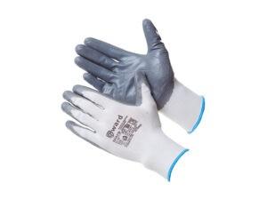 Перчатки нейлон, нитриловое неполн. покрытие, 13кл