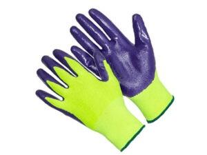 Перчатки нейлон, нитриловое покрытие, 13кл, размер 9