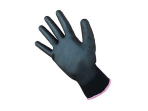 Перчатки нейлон, полиуретан. 13кл, размер 10, черные