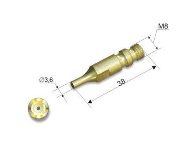 Мундштук внутренний №4П, М (50-100мм) к резакам Р1 142 П, Р1 150 П