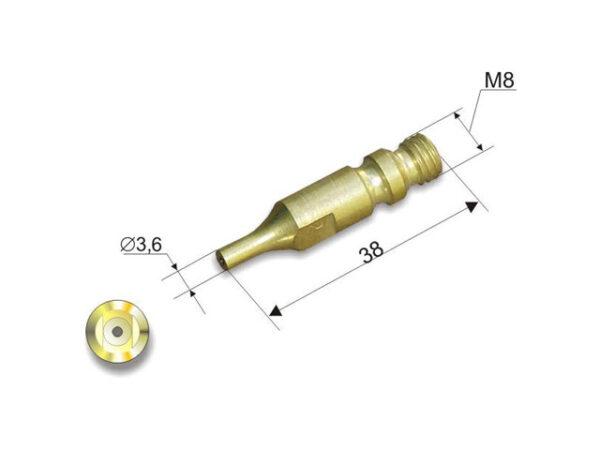 Мундштук внутренний №6П (200-300мм) к резаку Р3 300 П