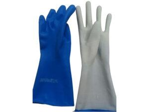 Перчатки КЩС с ворс подложкой размер М К80 Щ50