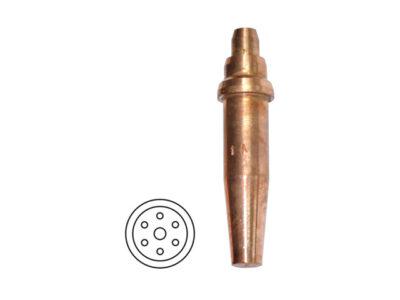 Мундштук ацетиленовый №2А (15-30мм) к резаку Р3 374