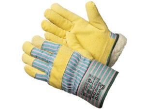 Перчатки спилковые комбинированные иск. мех. Kombi Zima