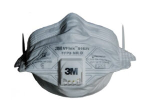 Респиратор 3М 9163 Vflex складн. с клап. FFP3D