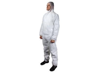 Защитный комбинезон JPC04, Jeta Safety с капюшоном. В уп 50 шт. Р-ры: XL)