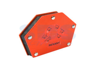 Держатель угольник магнитный Rexant для сварки на 6 углов усилие 22,6 Кг
